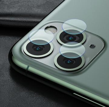 iphone11 pro/proMAX カメラレンズ ガラスフィルム