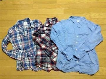SHIPS(シップス)しわシャツ3枚セット
