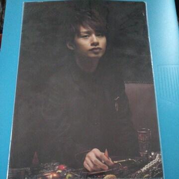 KAT-TUN 中丸雄一◇クリアファイル 2008 QUEEN OF PIRATES