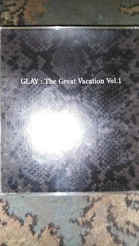 GLAY(グレイ) The Great Vacation Vol,1 3枚組ベスト