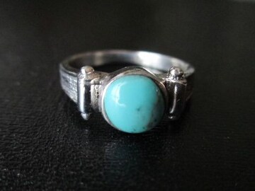Silver925    シルバー指輪, ターコイズ   #14