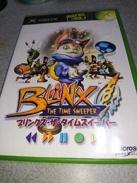 XBOX!箱説あり!ブリンクス・ザ・タイムスイーパー!ソフト