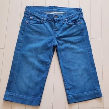 ◆セブンフォオールマンカインド◆ハーフデニム◆ジーンズ◆25
