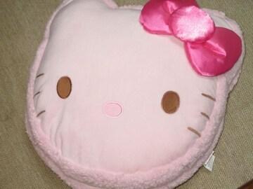 未使用☆ハローキティ*マカロンデザインクッション(ピンク)
