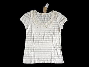 新品 定価1900円 ダブルクローゼット w closet レース  Tシャツ