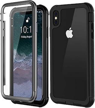 【Besinpo】iPhone Xs Max ケース 米軍MIL規格取得 フルカバー
