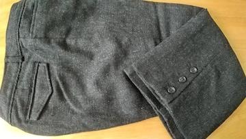 濃いグレーの七分丈スボン◆ウエスト70cm◆美品です!