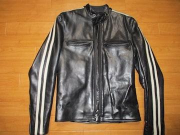 VANSON バンソン ライダースジャケット USA−S 美品