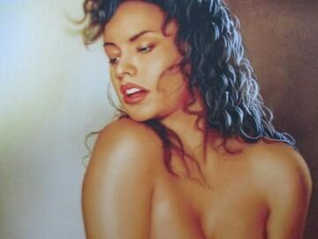 「褐色の情熱」の限定版画、エディション、直筆サインあり