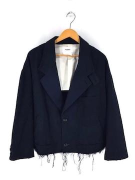 doublet(ダブレット)SILK CHINO CUT-OF F JACKETジャケット