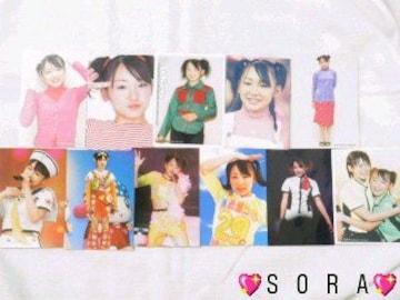 【加護亜依】プロマイドコレクション.フォト.生写真 11枚セット �A