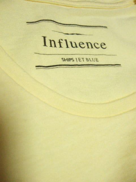 ☆INFLUENCE×SHIPS JET BLUE☆Tシャツ☆ < ブランドの