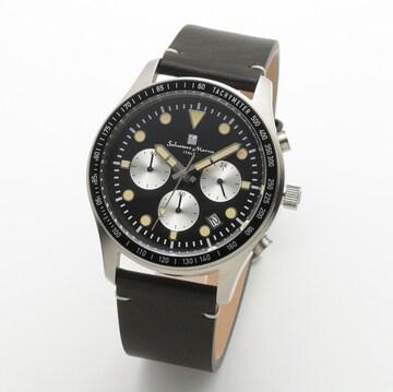 サルバトーレマーラ メンズクォーツ腕時計SM19101-SSBK