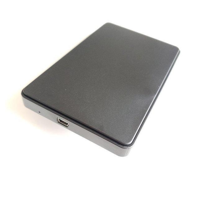 【黒】 2.5インチHDD/SSD USB接続 サタディスクケース4TBまで < PC本体/周辺機器の