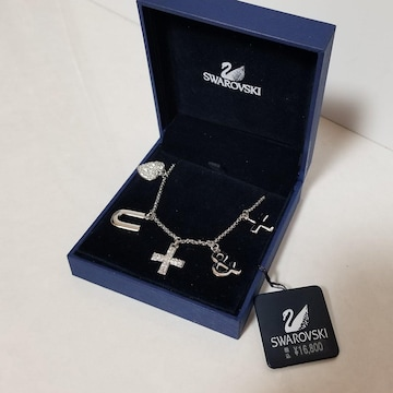 未使用  スワロフスキー  SWAROVSKI  ネックレス