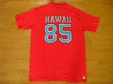 80年代 ハワイ ナンバリング Tシャツ L デッドストック