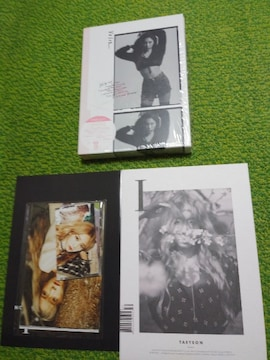 ☆TAEYEON☆ミニアルバムI★VOICE(初回限定盤A CD+LIVE DVD)♪
