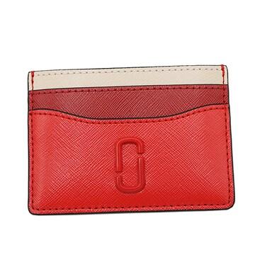 ◆新品本物◆マークジェイコブス カードケース(RED)『M0014527』◆