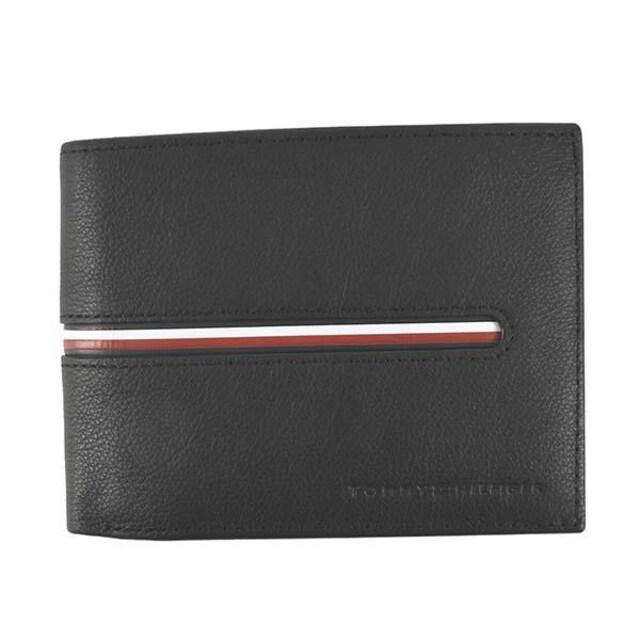 ★トミーヒルフィガー 2つ折財布(BK)『AM0AM07294』★新品本物★  < ブランドの