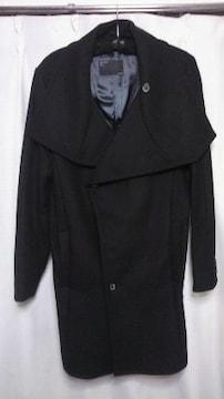 ZARA 新品同様 L でか襟コート