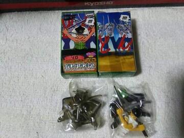 バンプレスト '03 リアルフィギュアインボックス ワンピース ゾロ 三刀流 カラー クリアVer.