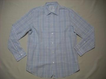 fy915 男 CK CALVIN KLEIN カルバンクライン チェックシャツ M