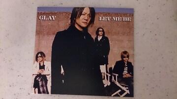 GLAY「LET ME BE」限定/15th ANNIVERSARY