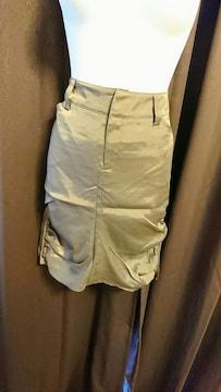 lNGNIファスナー付きタイトスカート