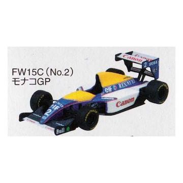 1/64 F1GP ウィリアムズミニカー Canon Williams FW15C モナコGP 1993 #2