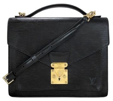 正規ルイヴィトンエピモンソーM52122ビジネスバッグ