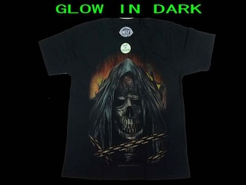 新品 Monster Screen Skull 限定夜光T−シャツ#5