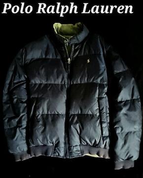 【Polo Ralph Lauren】ラルフローレン Vintage リバーシブル ダウンジャケット XL
