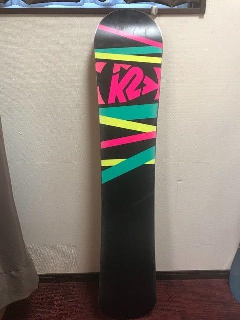 K2レディース用スノーボード FIRST  142 < レジャー/スポーツの