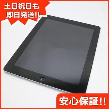 ●美品●iPad第4世代Wi-Fi32GB ブラック●