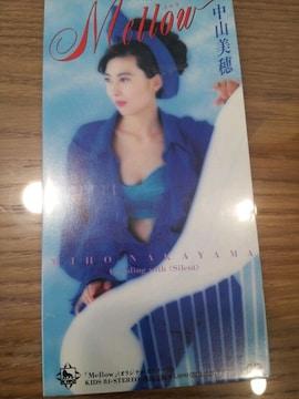 中山美穂*メロウ*CDシングル美品☆ミポリン◯