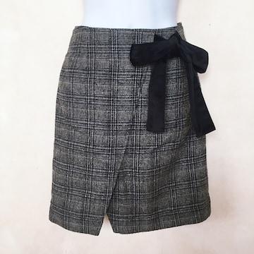 送料198円 切手可 マジェスティックレゴン リボン付 スカート