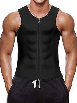 黒 XL ctrilady サウナスーツ ダイエットスーツ ダイエットウェ