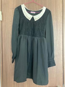 美品★長袖ワンピース