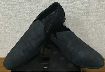 ZARA MAN カモフラージュ 迷彩 スリッポン ローファー ドレス