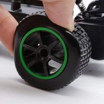 ラジコンカー 2.4Ghz 2WD オフロード車 S2グリン