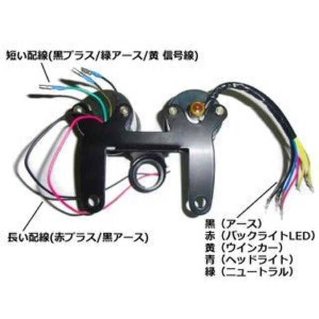 送料無料!フルLED!φ60mm/スピードメーター&タコメーターセット < 自動車/バイク