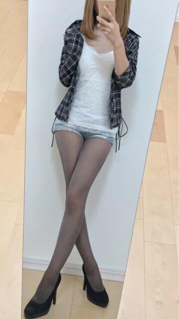 黒×白☆°チェックシャツ♪サイド編み上げ☆°ムチむちタイト♪ < 女性ファッションの