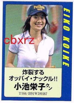 小池栄子 FLASHカード 1枚 雑誌付録
