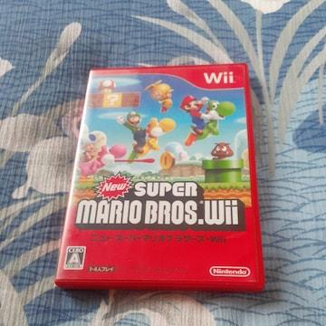 NEW スーパーマリオブラザーズ Wii ソフト