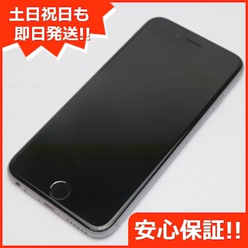 ●安心保証●美品●docomo iPhone6S 32GB  スペースグレイ●
