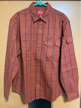 Supreme☆Twill Multi Pocket Shirt☆Mサイズ☆