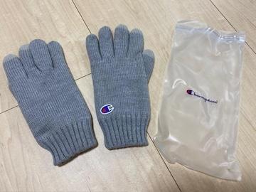 未使用 チャンピオン 手袋 グレー系