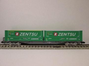 TOMIX 8731 コキ107-2080 TOMIX全国通運コンテナ搭載貨車-12