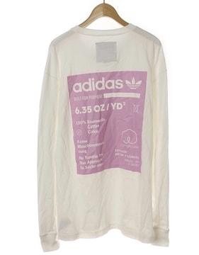 adidasアディダス☆バックプリント長袖Tシャツ