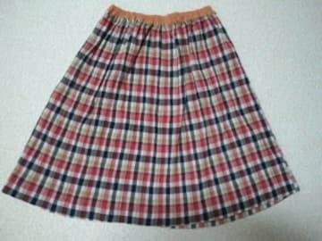 美品☆ツモリチサト☆チェックスカート